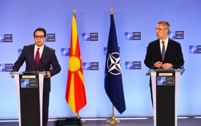 Средба на претседателот Пендаровски со Генералниот секретар на НАТО, Јенс Столтенберг
