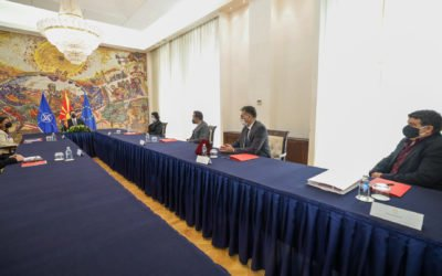 President Pendarovski meets with representatives of the Roma community