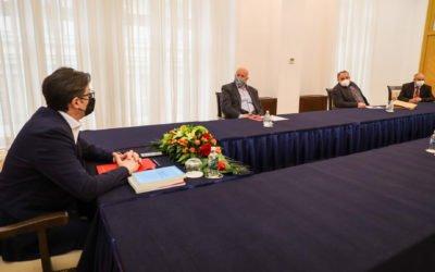 Средба на претседателот Пендаровски со Сојузот на Македонците со исламска религија – СМИР