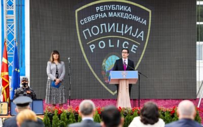 President Pendarovski addressed the celebration of May 7 – Police Day in the Republic of North Macedonia