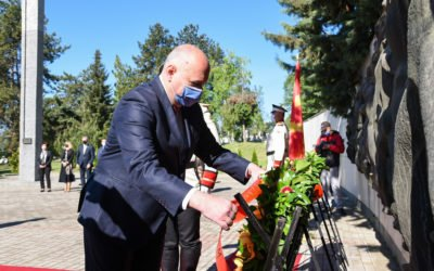 Delegation from the Cabinet of the President lays flowers on the occasion of May 9 – Victory Day over Fascism and Europe Day