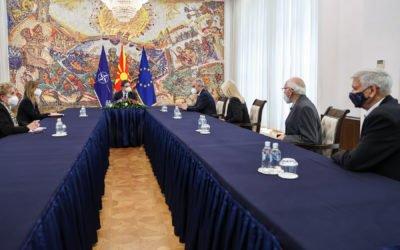 Средба со претставници на влашката заедница во пресрет на 23 Мај – Националниот ден на Власите