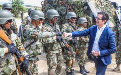 Претседателот Пендаровски: Преку вложување во регионалниот мир и глобалната стабилност, вложуваме и во нашата сопствена безбедност