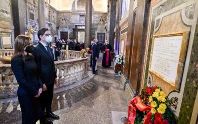 Претседателот Пендаровски и претседателот Радев во Рим заеднички ги чествуваа Св. Кирил и Методиј