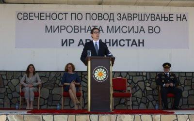 Претседателот Пендаровски: Нашите војници покажаа дека се професионално обучени согласно највисоките НАТО стандарди