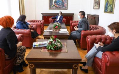 President Pendarovski meets with Rosana Dudzak, UN Resident Coordinator