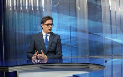 Интервју на претседателот Стево Пендаровски за Дневникот на ТВ Сител