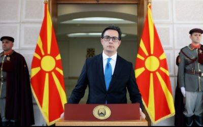 Честитка од претседателот Пендаровски по повод 2 Август, Илинден – Денот на Републиката
