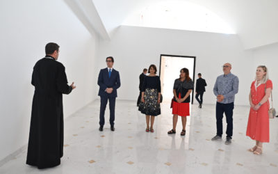 """Presidenti Pendarovski në Zagreb e vizitoi KOM """"Shën. Zllata e Meglenit"""", u takua me ish-presidentin kroat Stipe Mesiq dhe e vizitoi muzeun e Drazhen Petroviq"""