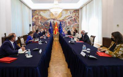 Средба со Доника Грвала-Шварц, заменик-премиер и министерка за надворешни работи и дијаспора на Република Косово