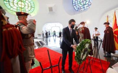 Претседателот Пендаровски на чествување на државниот празник 2 Август, Илинден – Денот на Републиката во Крушево
