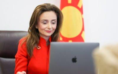 Сопругата на претседателот се вклучи во одбележувањето на 30 години од глобалната кампања против родово базирано насилство