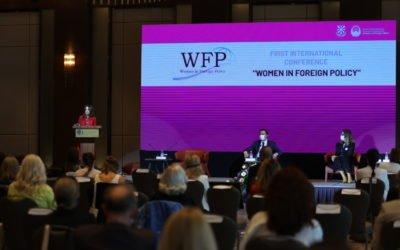 """Сопругата на претседателот – покровител на меѓународната конференција """"Жените во надворешната политика"""""""