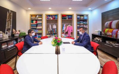"""Претседателот Пендаровски во посета на Делчево во рамки на проектот """"Лице в лице со Претседателот"""""""