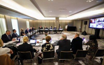 Претседателот Пендаровски се обрати на 20.состанок на високо ниво во организација на Меѓународниот центар Низами Ганџави