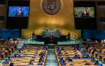Обраќање на претседателот Пендаровски на Генералната дебата на 76. Сесија на Генералното собрание на Обединетите нации