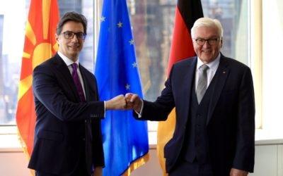 Takimi i Presidentit Pendarovski me Presidentin Gjerman Shtajnmajer në Nju-Jork