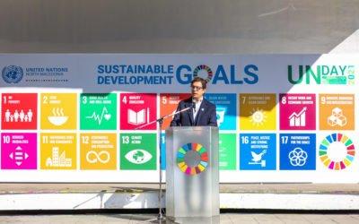 Претседателот Пендаровски се обрати на одбележувањето на 76 години од основањето на Обединетите нации
