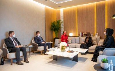 Учество на сопругата на претседателот, Елизабета Ѓоргиевска на Павилјонот за жени ЕКСПО 2020 во Дубаи