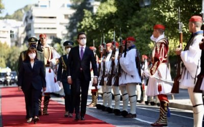 Започна официјалната посета на претседателот Пендаровски на Хеленската Република