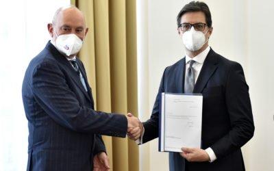 President Pendarovski meets with EU Ambassador Geer